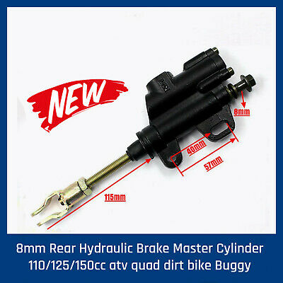 8mm Rear Brake Master Cylinder 4 Dirt Pit Trail Bike ATV Quad Thumpstar Atomik