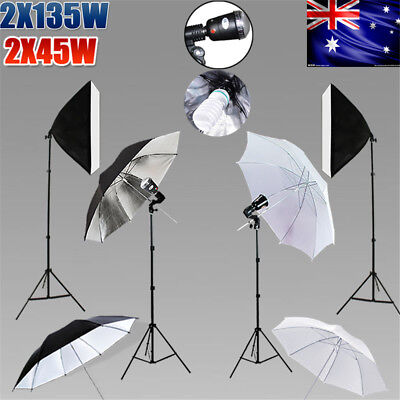 Studio Continuous Lighting Softbox Boom Light 2x3M Backdrop Stand KiT Photograph