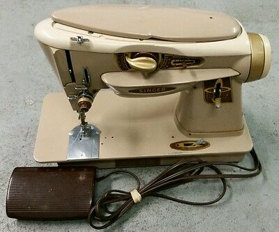 The Rocketeer..Singer Heavy Duty Sewing Machine Model 500A with Pedal