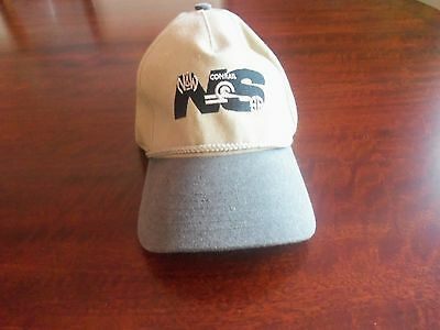 """Norfolk southern conrail hat """"twelve years and counting"""" with free pin"""
