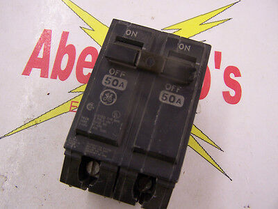 General Electric THQL2150 50 Amp 2 pole circuit breaker 120/240 volt