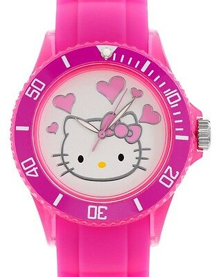 $105 HELLO KITTY Brand New Authentic Hot Pink Watch