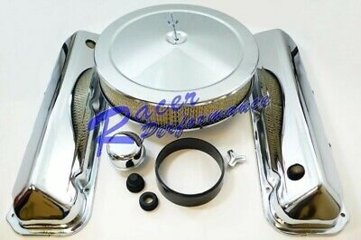 Chrome BB Ford Engine Dress Up Kit With Air Cleaner 429 460 7.4L V-8 1968-Up