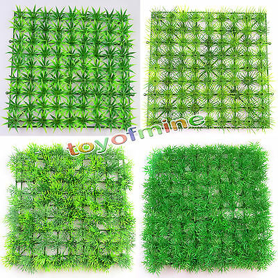 1pc Home Decor Artificial Grass Rug Synthetic Lawn Mat Turf Foliage Flower Plant