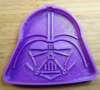 Star Wars Darth Vader Cookie Cutter - Choice of Sizes - 3D Printed Plastic