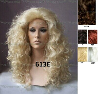 Lots of Volume Long Drag Queen? Womens Curls Fullness Wig U Choose Colour