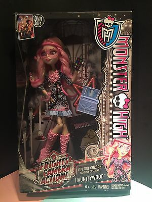 MONSTER HIGH Viperine Gorgon, Frights, Camera, Action NEW