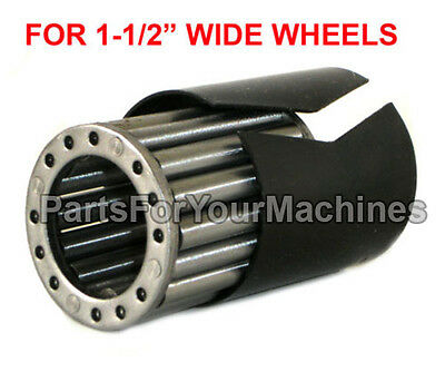"""10 Roller Bearings And Split Outer Sleeve Set,1-3/8""""long, For 1-1/2"""" Wide Wheels"""