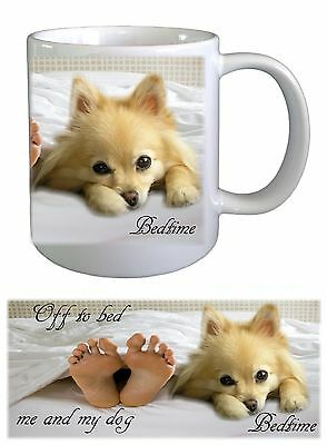 Pomeranian Dog Ceramic Mug by paws2print