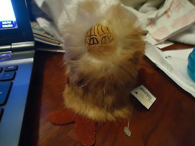 VINTAGE HANDMADE  ALASKAN DOLL FIGURE MADE IN ANCHORAGE ALASKA EUC