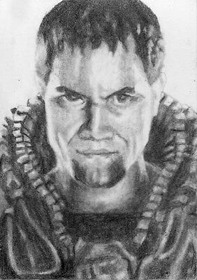 General Zod From The Man Of Steel Movie ACEO Sketch Card - Price Drop