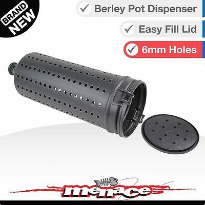 Berley Pot Cage Dispenser Bait Bucket Dropper Plastic Non-Corrosive New