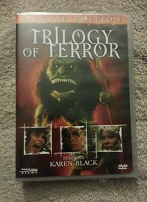 Trilogy of Terror (DVD, 2006, Special Edition) Factory Sealed