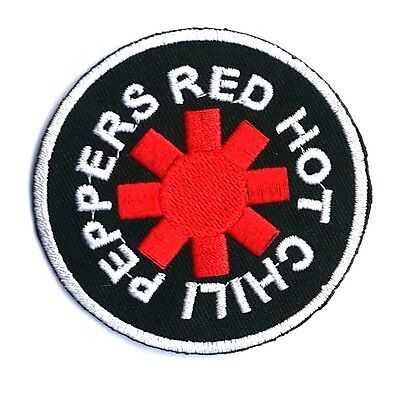 RED HOT CHILI PEPPERS Music Band Punkal Ternative Rock Pop Sew Iron on Patches