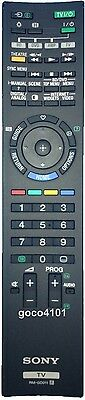 Original SONY TV Remote RM-GD011 replaces RMF-GD001 KDL-46XBR45 KDL-55XBR45 NEW!