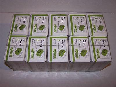 Wago 773-116 6 X 12 Awg Max. Grounding Connector New In Boxes Lot Of 50
