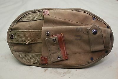 Vietnam  US Army Carrier Entrenching Tool or Shovel Canvas Carrier Cover