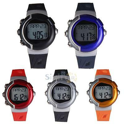 Fitness Pulse Heart Rate Monitor Sport Running Watch Calories Counter Stop Watch