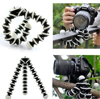 Large Flexible Octopus Tripod Holder Stand for digital SLR Canon Nikon Camera DV