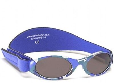 Kidz Banz CAMO BLUE Sunglasses 100% UV Protection Boy Girl 2-5 Year Value 000932