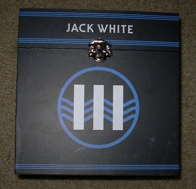 "JACK WHITE New RECORD BOX #1 for 7"" 45 rpm vinyl Third Man Records Stripes vault"