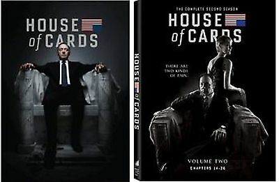 House of Cards: The Complete Season 1-2. 1&2, 1, 2  New