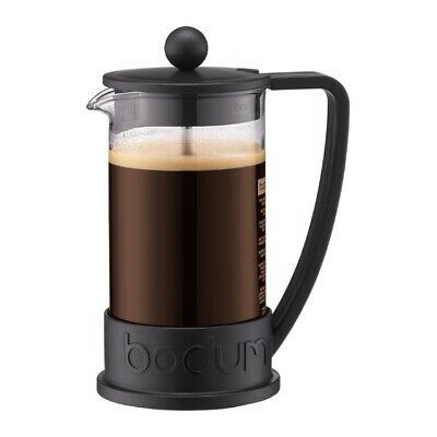 Bodum Brazil French Press Coffee Tea Maker 3 Cup, Black 10948-01