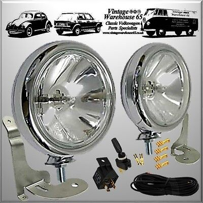 2 Chrome Spot light kit BMW New Mini 2001 to 2006