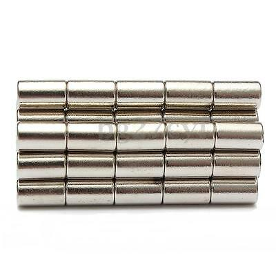 50pcs N52 Strong Round Disc Magnets Rare Earth Neodymium Cylinder 6mm x 10mm