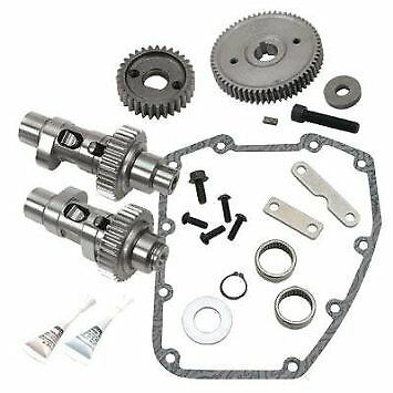 S&s Cycle 570Ge Gear Drive Camshaft Kit 2007-Later Big Twin Models Suit Harley