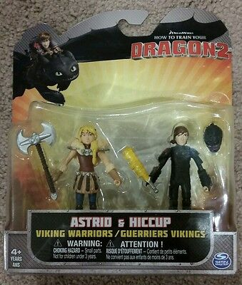 How to Train Your Dragon 2 Astrid Hiccup Two Pack SEALED!!!