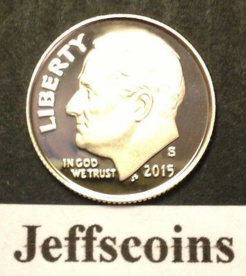 2015 S Mint Clad Proof Dime Roosevelt 10¢ Gem New From Set Gradable Early Issue