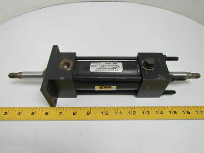 "02.00 KJTC2ANU14A14A 2.000 Pneumatic Air Cylinder 2"" Bore 2"" Stroke Double Rod"