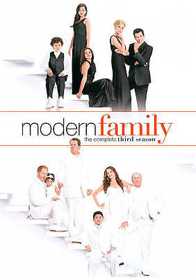 Modern Family: The Complete Third Season 3  (DVD, 2012, 3-Disc Set)  NEW