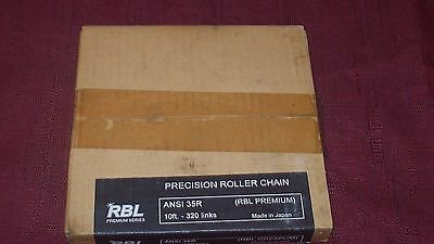 RBL 35-R ANSI Precision Roller Chain 10F 320 Links New