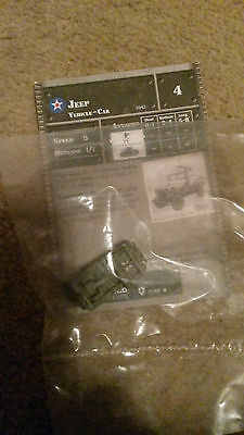 Jeep Axis & Allies Tank Miniatures US  17/48