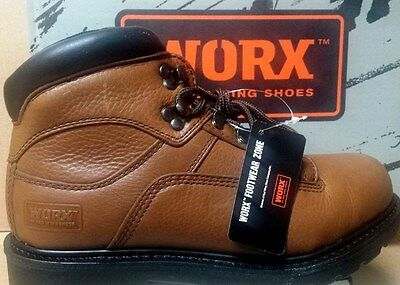"Worx by Red Wing Shoes Style #5445 - 6"" Brwn Boot Size USA 9  EEE"