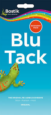 Bostik bostick blu blue tack adhesive economy large value pack 80108 new