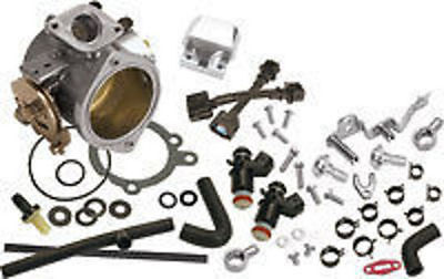 S&s Cycle 52Mm Single Bore Efi Throttle Body / Fuel Rail Kit Suit Harley