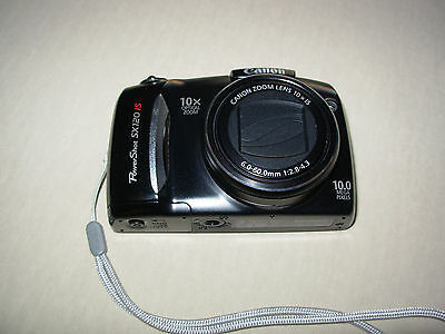 Canon PowerShot SX120 IS 10.0 MP Digital Camera with 10x Optical IS Zoom PC1431