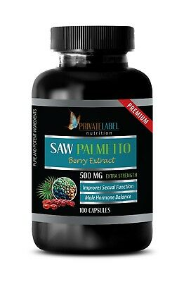 Saw Palmetto 500mg - Healthy Prostate - Urinary Tract & Bladder (100 Capsules)