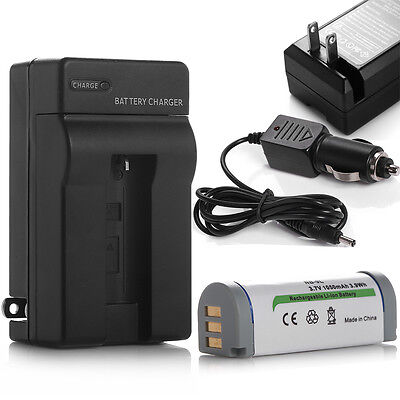 1050mAh NB9L Battery + Charger For Canon PowerShot SD4500 IS ELPH 510 520 530 HS