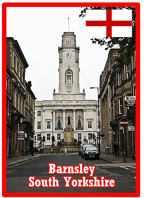 Barnsley, South Yorkshire - Souvenir Novelty Fridge Magnet - Sights / Gifts
