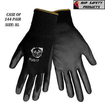 Global Glove Pug17-Xl Pu Polyurethane Work Gloves Size X-Large (Case 144 Pair)