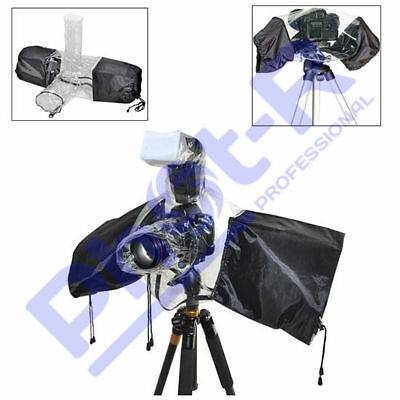PhotR Universal Waterproof Rain Cover Camera Lens Protector for Nikon Canon DSLR