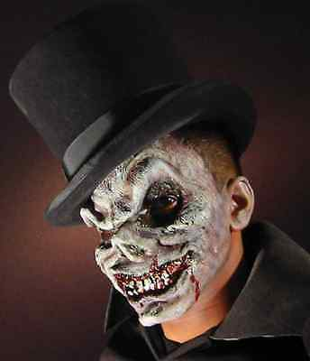 Skull Wicked Evil Skeleton Fancy Dress Halloween Costume Makeup Latex Prosthetic