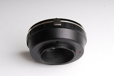 Canon EOS EF Lens to Micro Four Thirds m4/3 mount adapter ring Olympus Panasonic