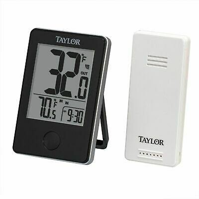 Taylor Precision 1542 WeatherGuide Wireless Thermometer with Temperature Alert