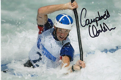 Campbell Walsh Hand Signed Great Britain 6X4 Photo Athens 2004 2.