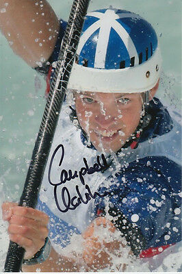Campbell Walsh Hand Signed Great Britain 6X4 Photo Athens 2004 5.